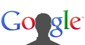 Google logo and silhouette of man, courtesy of Shutterstock