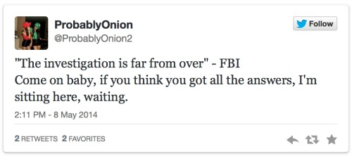 Twitter screenshot - FBI taunt