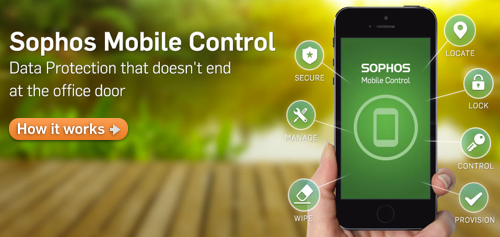 Sophos Mobile Control ... click to learn more