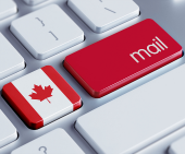 Canada mail. Image courtesy of Shutterstock
