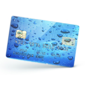 Card and rain drops images courtesy of Shutterstock