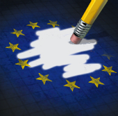 EU eraser image courtesy of Shutterstock