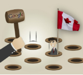 Images of whack a mole and Canadian flag, courtesy of Shutterstock