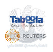 Reuters, Taboola and SEA logo composite