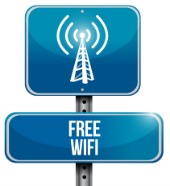 Free WiFi. Image courtesy of Shutterstock