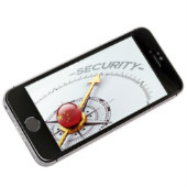 Composite image of iPhone and Chinese security concept, courtesy of Shutterstock