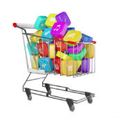 Image of app shopping cart courtesy of Shutterstock