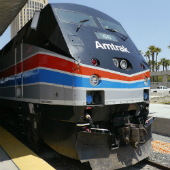 Image of Amtrak train courtesy of Wikipedia