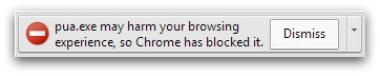 deceptive software warning