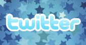 Image of stars and Twitter logo composite, stars courtesy of Shutterstock