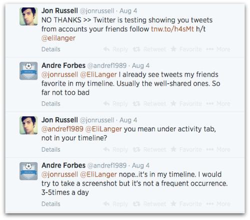 Screenshot of Jon Russell Twitter conversation