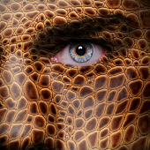 Lizard face courtesy of Shutterstock