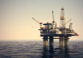 Image of oil platform courtesy of Shutterstock