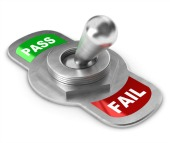 Pass/Fail. Image courtesy of Shutterstock