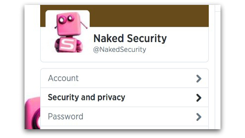 Twitter Security and privacy