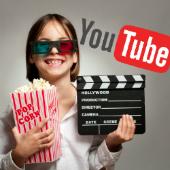 Image of movie girl, courtesy of Shutterstock