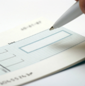 Image of check courtesy of Shutterstock