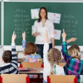 Classroom. Image courtesy of Shutterstock
