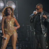 Image of Beyonce and Jay-Z, creative commons