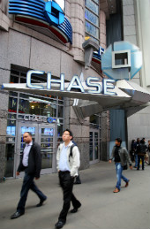 Image of Chase bank courtesy of Shutterstock and Northfoto