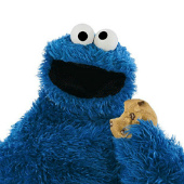 Cookie Monster, Flickr