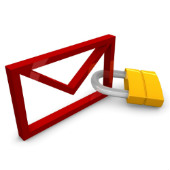Image of email security courtesy of Shutterstock
