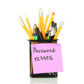 Image of password, courtesy of Shutterstock