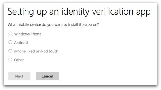 Set up identity verification