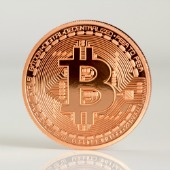 Bitcoin. Image courtesy of Shutterstock