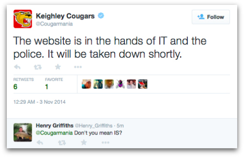 Keighley Cougars Twitter