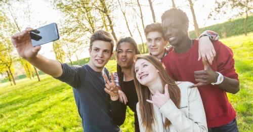 Selfie. Image courtesy of Shutterstock