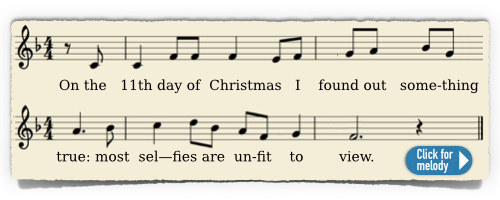 The Twelve Days of Christmas - melody