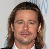 Brad Pitt. Image courtesy of s_bukley and Shutterstock.
