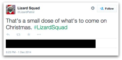 Lizard Squard Christmas