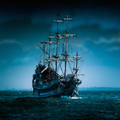 Image of pirate ship courtesy of Shutterstock