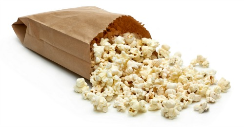 Popcorn. Image courtesy of Shutterstock