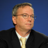 Eric Schmidt, from Wikipedia Commons