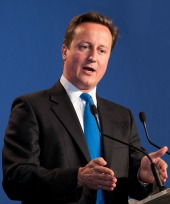 David Cameron. Image courtesy of Frederic Legrand - COMEO / Shutterstock.