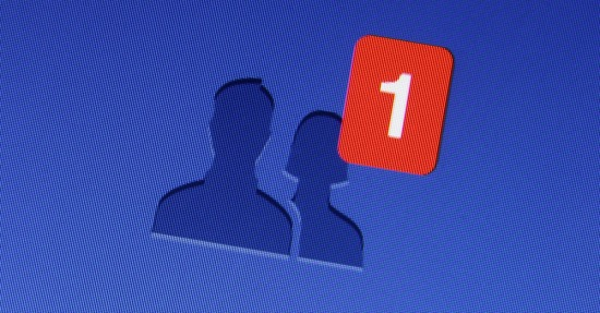 Facebook friend request. Image courtesy of dolphfyn/Shutterstock.