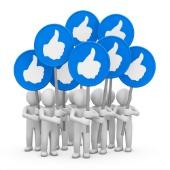 Facebook men. Image courtesy of Shutterstock.