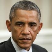 Barack Obama. Image courtesy of Mykhaylo Palinchak / Shutterstock.