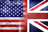 US and UK. Image courtesy of Shutterstock.