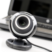 Webcam. Image courtesy of Shutterstock.