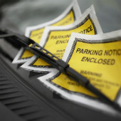Parking notices courtesy of Shutterstock