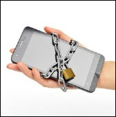 Image of locked phone courtesy of Shutterstock
