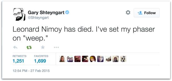 shteyngart-nimoy-tweet-550