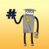 Image of bad Twitter robot courtesy of Shutterstock