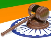 India law. Image courtesy of Shutterstock