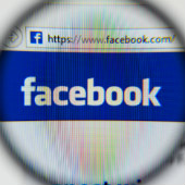 Image of Facebook courtesy of Shutterstock