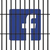 FB jail. Image courtesy of Shutterstock